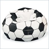 Elite Child Vinyl Soccer Ball Bean Bag Chair