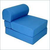 Elite Royal Blue Children's Foam Sleeper Chair