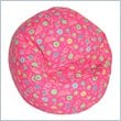 ADD TO YOUR SET: Elite Child Prints Collection Pink Flowers Bean Bag Lounger