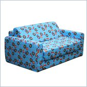 Elite Racecars Children's Foam Sleeper Sofa