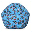 ADD TO YOUR SET: Elite Products Juvenile Prints Collection Race Car Bean Bag