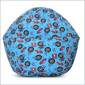 Elite Products Juvenile Prints Collection Race Car Bean Bag