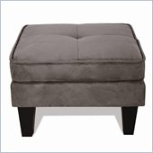 Elite Products Newport Convertible Ottoman in Grey