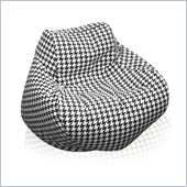 Elite Products Fun Factory Houndstooth Bean Bag