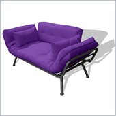 Elite Products Mali Futon in Purple