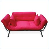 Elite Products Mali Futon in Hot Pink