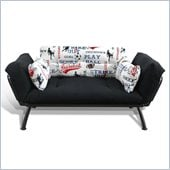 Elite Products Mali Futon in American Sports Print