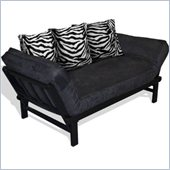 Elite Products Hudson Futon in Zebra