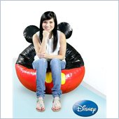 Elite Products Large Disney Mickey Bean Bag Vinyl Cover