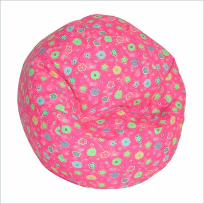 Elite Juvenile Print Junior Bean Bag in Pink Flower