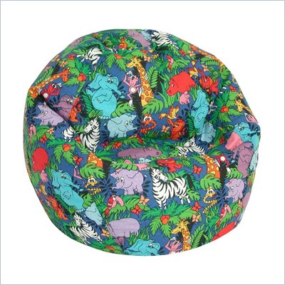 Elite Jungle Animals Kids Prints Collection Bean Bag Lounger
