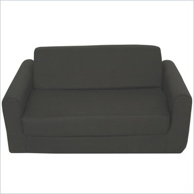 Elite Black Children's Foam Sleeper Sofa