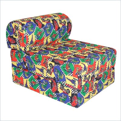 Elite Racecars Children's Foam Sleeper Chair