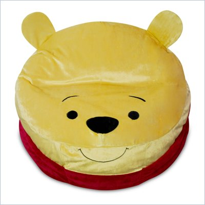 Elite Products Junior Disney Plush Winnie The Pooh Bean Bag Cover