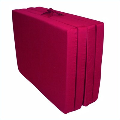 Elite Burgundy Full Folding Floor Matt