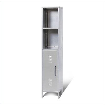 Elite Products Locker Storage Tower Right, Multicolor