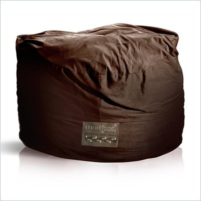 Elite Products 5 Foot Mod Pod FX Bean Bag Chair in Deluxe Chocolate