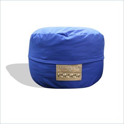 Elite Products Junior Mod Pod FX 3-FT Bean Bag Chair in Royal Blue