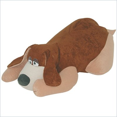 Elite Child Plush Collection Rug Pals TV Watch Dog Bean Bag