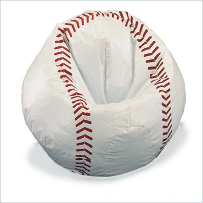 Elite Child Collection Vinyl Baseball Bean Bag