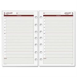 Day Runner Express 061125Y Dated Planner Refill