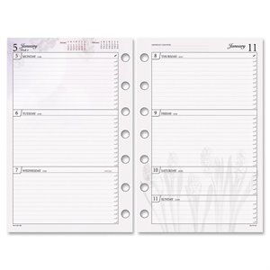 Day Runner Express Nature Planner Refill