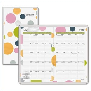 Day Runner Bubbles Pocket Planner