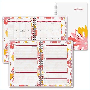 Day Runner Floral Explosion Academic Planner