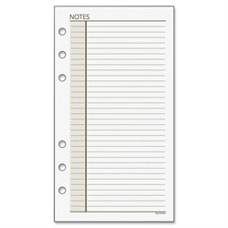 Day Runner Lined Undated Notepad Refills