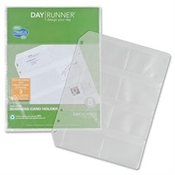 Day Runner Eight Top-loading Planner Card Slots