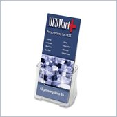 Deflect-o Leaflet Size Rigid Literature Rack
