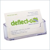 Deflect-o Desktop Business Card Holder