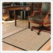 Deflect-o DuraMat Chunky Wool Jute Chair Mat