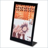 Deflect-o Superior Image Slanted Standup Sign Holder