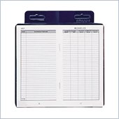 Dome Publishing Deluxe Auto Mileage Log Book
