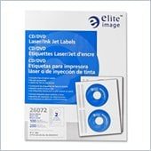 Elite Image CD/DVD Laser/Inkjet Label