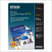 Epson Double-Sided Matte Presentation Paper