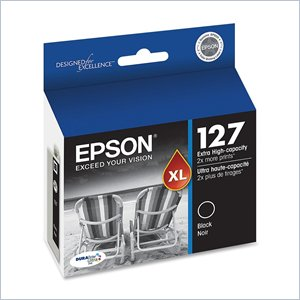 Epson DURABrite T127120 High Capacity Ink Cartridge