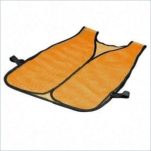 ERB Lightweight Plain Mesh Safety Vest