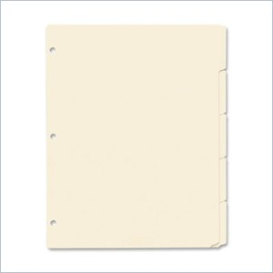 Esselte Ring Book Index Sheets