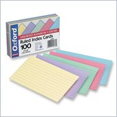 Esselte Rainbow Pack Index Card