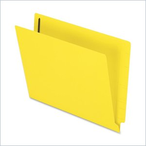 Esselte Colored End Tab Folder with Fastener