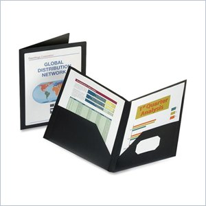 Oxford ViewFolio Twin Pocket Window Portfolio