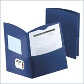 Esselte Contour Two Pocket Folder