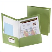Esselte Metallic Two Pocket Folder