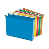 Esselte Colored Box Bottom Hanging File Folder