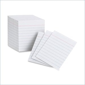 Oxford 10009 Mini Index Card