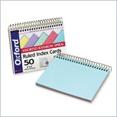 Esselte Spiral Bound Index Card