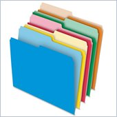 Esselte Reversible File Folders with Stretch Tab