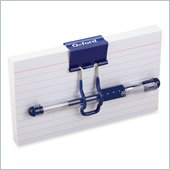 Oxford At Hand Index Card with Pen and Clip